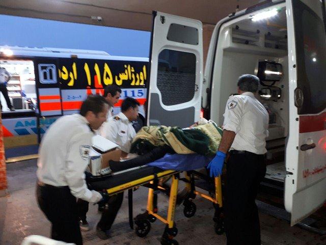 اظهارات مصدومان حادثه واژگونی اتوبوس در محور سوادکوه
