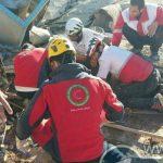 پیدا شدن نوزاد زنده از زیر آوار زلزله در سرپل ذهاب!