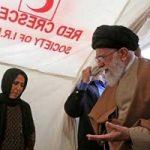 واکنش دفتر رهبر انقلاب به حضور با کفش جهانگیری در چادر زلزله زدگان