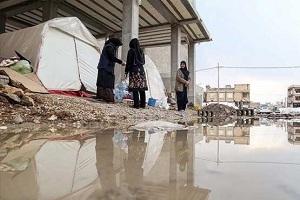 یخبندان در مناطق زلزله زده کرمانشاه!
