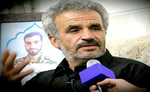 پدر شهید محسن حججی: گوسفند نذر کردیم داعش او را شهید کند!
