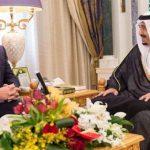 دیدار نخستوزیر مستعفی لبنان با ملک سلمان