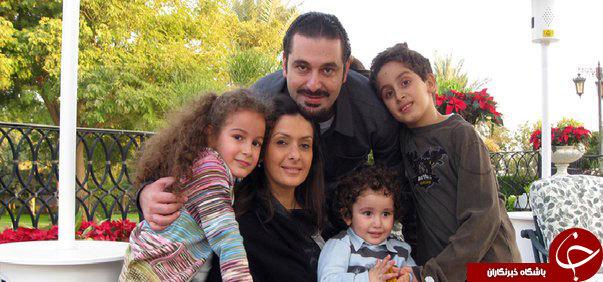 همسر سعد حریری