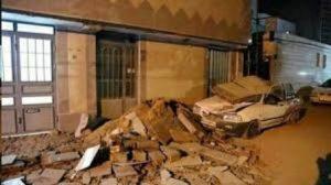 تصویری اشتباهی که بجای زلزله دیشب ایران منتشر شده!