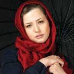 گریم دهه شصتی مهراوه شریفی نیا در درخونگاه!