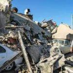 ایجاد شکاف در زمین دالاهو کرمانشاه بر اثر زلزله
