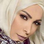 امل حجازی خواننده معروف لبنانی محجبه شد