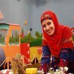 ملیکا زارعی (خاله شادونه) در دوران دبیرستان