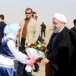 اولین سفر استانی دولت دوازدهم   روحانی وارد استان سیستان و بلوچستان شد