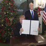تشییع تابوت ترامپ در اعتراض مردم غزه به اقدام او !