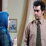 شهاب حسینی و گلاره عباسی در پشت صحنه سریال شهرزاد ۳