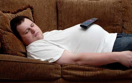 علل چاقی در خواب