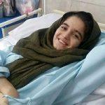 موج کمکها به هانیه فداکار   دختر قطع نخاع شده در زلزله
