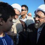 سفر آملی لاریجانی به مناطق زلزله زده کرمانشاه