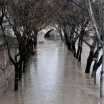 بارش باران و سیل در ساحل رود سن در پاریس!