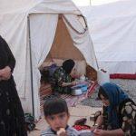چادرهای زنان بدون روسریِ زلزله زدگان سرپل ذهاب را باد برد!
