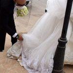مصائب عروسی در گرد و غبار!