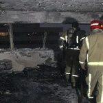 آتشسوزی در اکباتان؛ نجات ۴۰ نفر از ساختمان ۹ طبقه