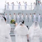 جشن عروسی گروهی ملوانان چینی