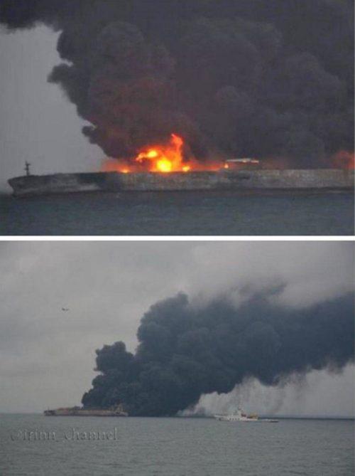ناپدید شدن ۳۰ ایرانی در آبهای چین در پی برخورد دو کشتی!