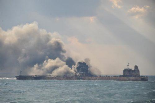 تصاویر رویترز از نفتکش ایرانی