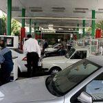 مراقب سارقان در پمپ بنزین باشید!