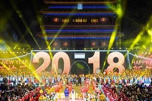 جشن آغاز سال ۲۰۱۸ در سراسر جهان