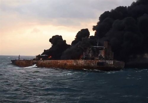 پیکرهای کشف شده نفتکش سانچی در راه ایران!