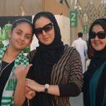 ذوق زدگی زنان عربستانی بعد از حضور در استادیوم فوتبال!