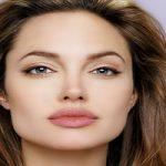 چهره آنجلینا جولی در ۴٢ سالگى!