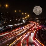 «ابرماه سرخ آبی» و «ماهگرفتگی آبی» در ایران