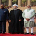 ادای احترام روحانی به گاندی؛ رهبر فقید هندوستان