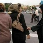 پلیس زن مامور بازداشت بانوان بدحجاب