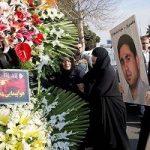 اشکهای وزیر کار در بزرگداشت قربانیان سانحه هوایی