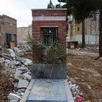واکنش به تخریب قبور قدیمی امامزاده عبدالله