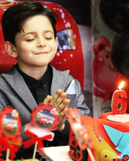 جشن تولد لاکچری پسر بابک جهانبخش + تصاویر