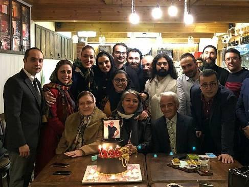 جشن تولد مرحوم عارف لرستانی