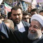 حضور حسن روحانی در راهپیمایی ۲۲ بهمن