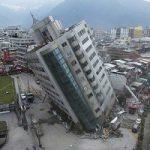کج شدن یک هتل در زلزله شدید تایوان!