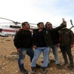 حضور سلفیبگیران در منطقه سقوط هواپیما !