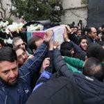 تصویری از شهید خیابان پاسداران