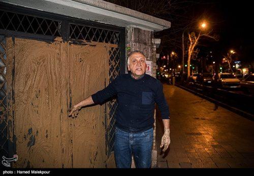 گلگیری احمد نجفی در شورای اکران