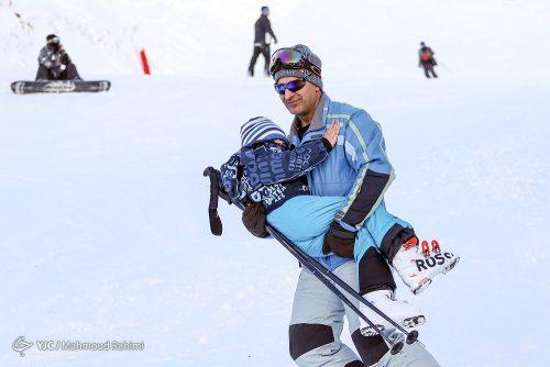به وقت هیجان در پیست اسکی دربندسر