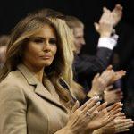دونالد ترامپ رئیس جمهور امریکا در کنار بدل همسرش!!