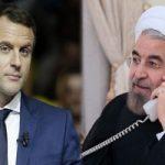 درخواست ماکرون رئیس جمهور فرانسه از حسن روحانی