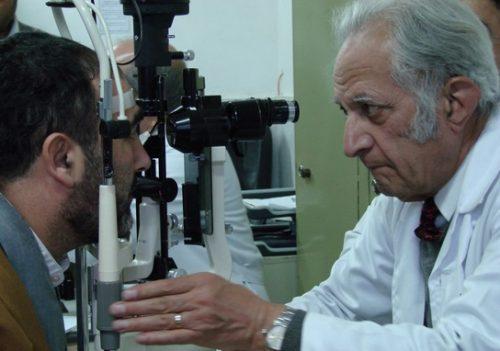 درگذشت نابغه چشمپزشکی