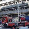 ساختمان سازمان مرکزی تعاونی روستایی ایران آتش گرفت