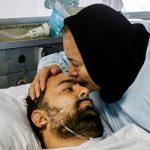 عیادت دادستان از مجروح خیابان پاسداران