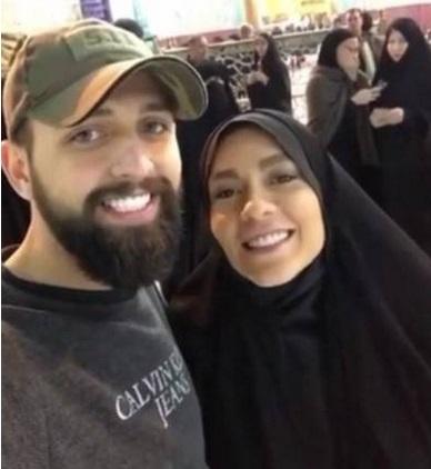محسن افشانی و همسرش در ترکیه