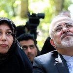 پوشش همسر دکتر ظریف در جشنواره مد و لباس!